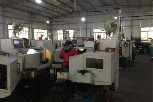 Widok fabryki
